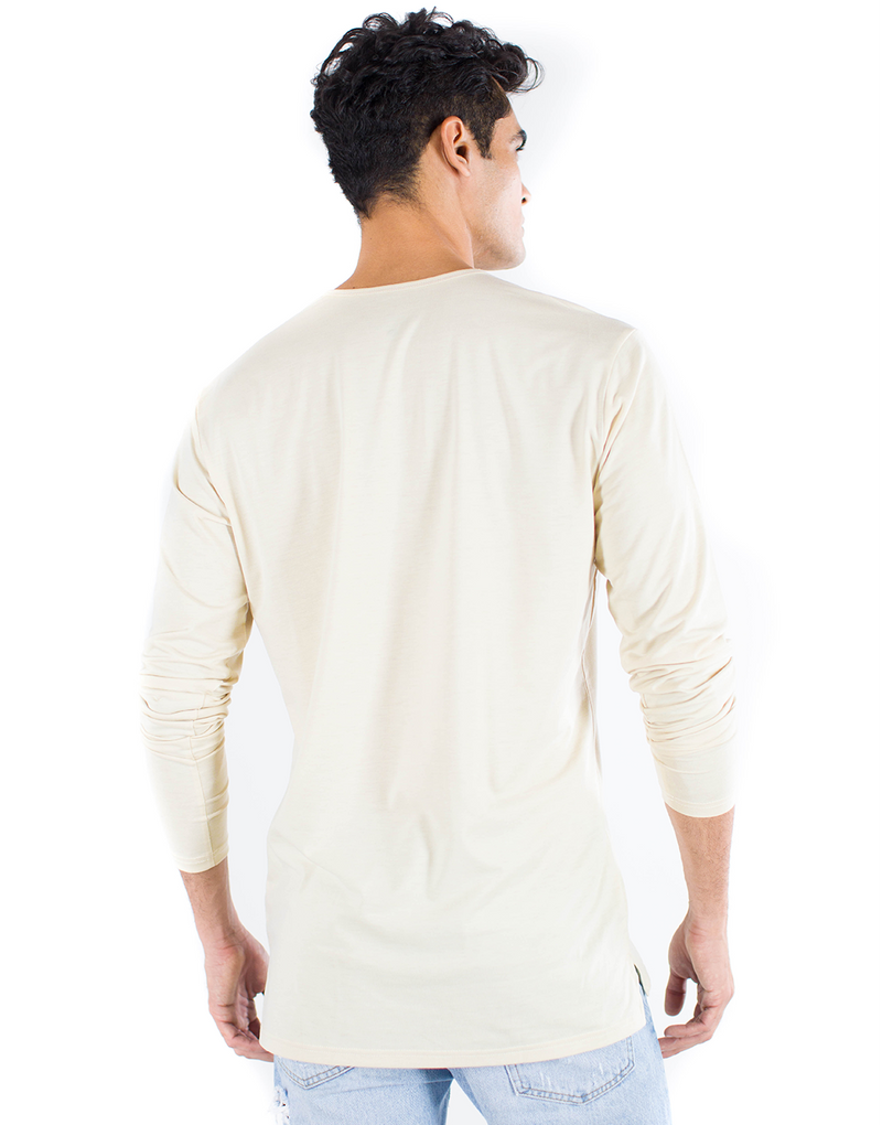 The ESNTLS Bone Staggered Long Sleeve