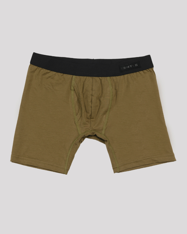 The ESNTL Olive Boxer Brief