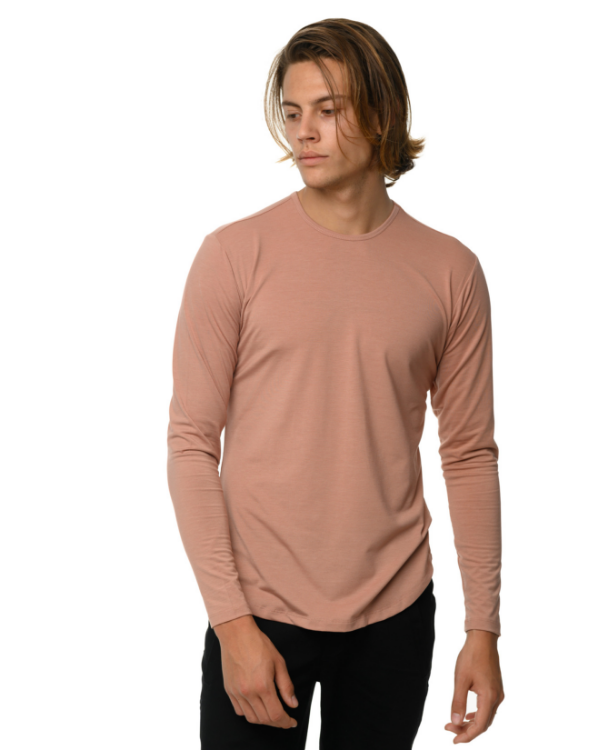 The ESNTLS Salmon Scoop Long Sleeve