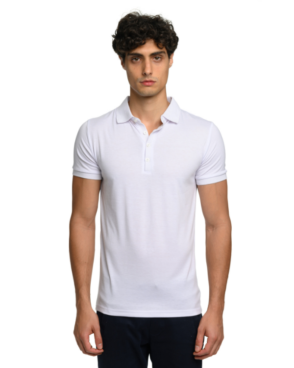 The ESNTL White Polo