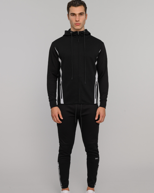 The ESNTLS Black Track Suit