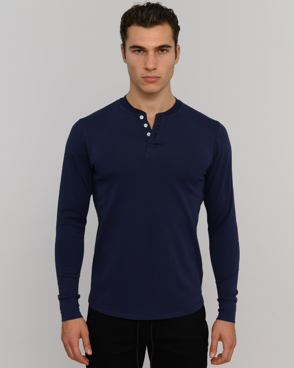 The ESNTLS Navy Henley