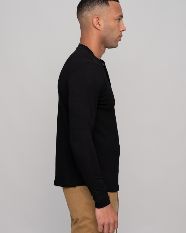 The ESNTLS Black Henley