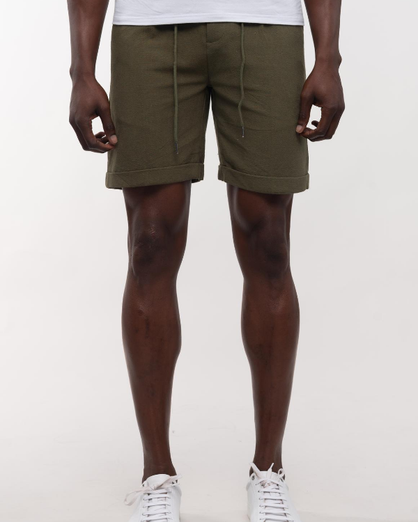 The ESNTL Olive Summer Short