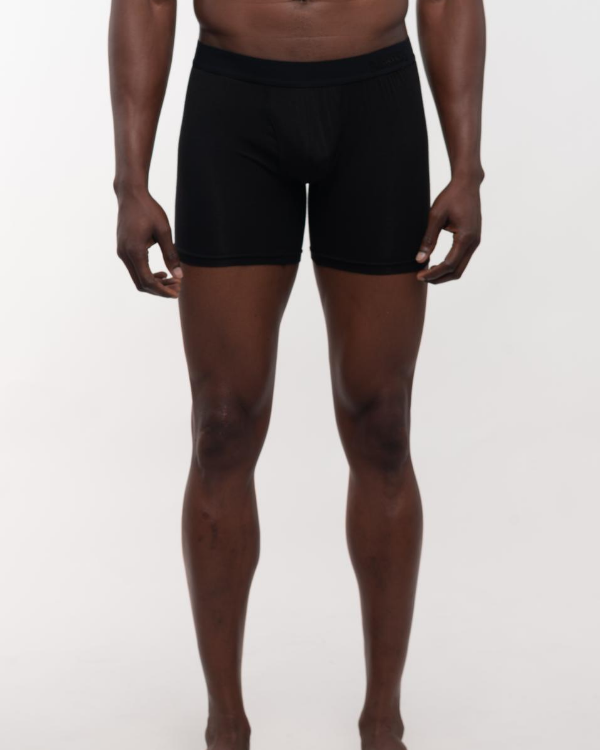 The ESNTL Black Boxer Brief