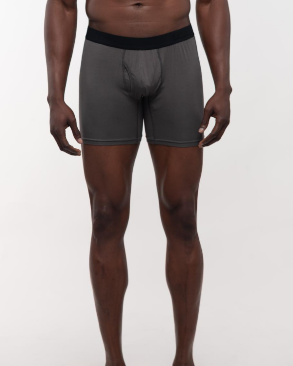 The ESNTL Grey Boxer Brief