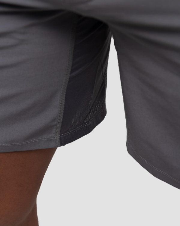 The ESNTL Light Gray Sport Short