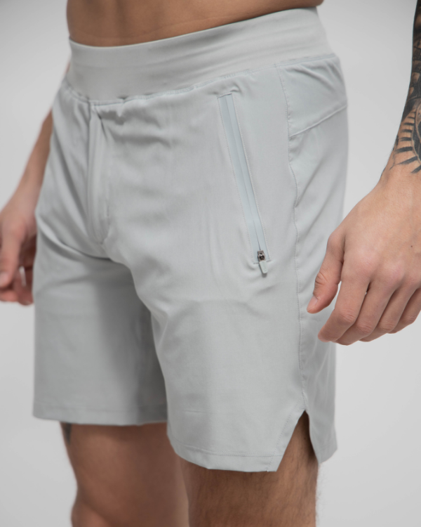 Grey Green Sport Short