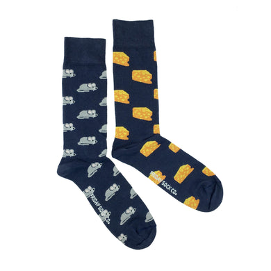 Friday Sock Co. - Mouse and Cheese