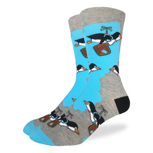 Travelling Penguin Men's Crew Socks