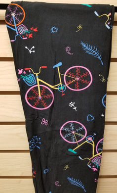 Bike Multi-Color Leggings