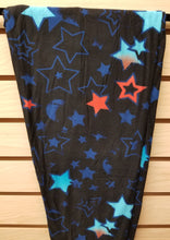 Red/Blue Stars Leggings Plus Size
