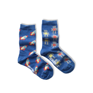 Friday Sock Co.  - Rocketship & Robots Beakerhead Collaboration (Crew)