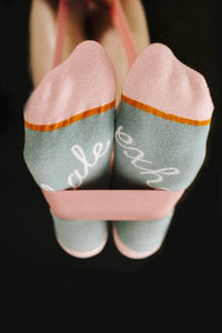 Yoga - Inhale/Exhale Ankle Socks