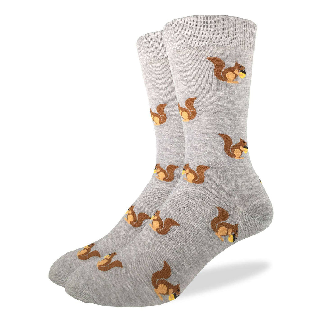 Squirrel Men's Crew Socks