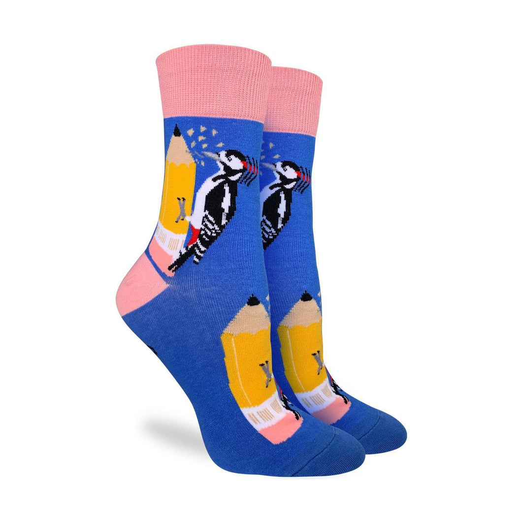 Bird Sharpener Women's Crew Socks