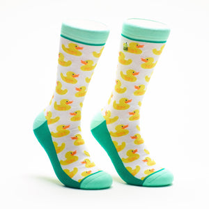 Woven Pear - Rubber Duckies Socks