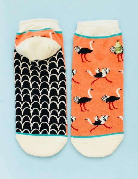 Ostriches Ankle Socks