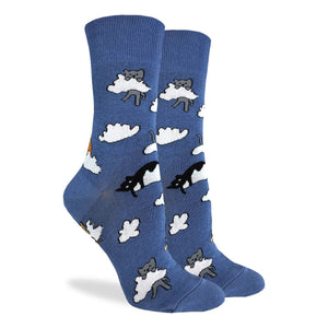 Cloud Cats Women's Crew Socks