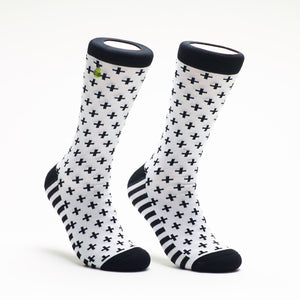 Woven Pear - Criss Cross Socks