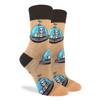 Alien Otters Women's Crew Socks