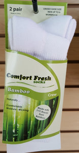 Comfort Fresh / +MD Bamboo Socks Crew