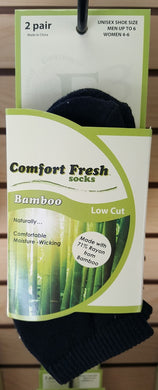 Comfort Fresh / +MD Bamboo Socks No Show