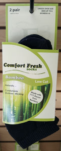 Comfort Fresh Bamboo Socks No Show