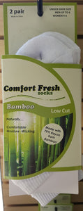 Comfort Fresh / +MD Bamboo Socks Low Cut