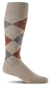 Argyle - Moderate Compression Socks