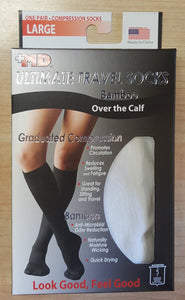 Bamboo Ultimate Travel Compression Socks