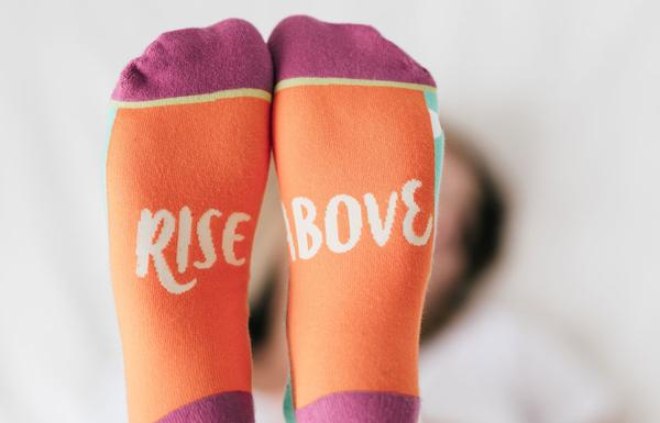 Rise Above Crew Socks