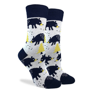 Bears in the Forest Women's Crew Socks