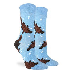 Platypus Women's Crew Socks