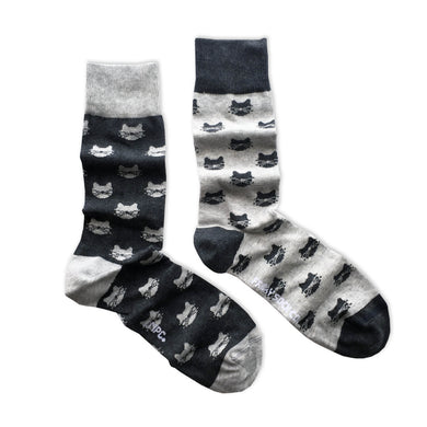 Friday Sock Co.  - Grey Cats