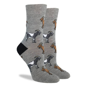 Goats Women's Crew Socks
