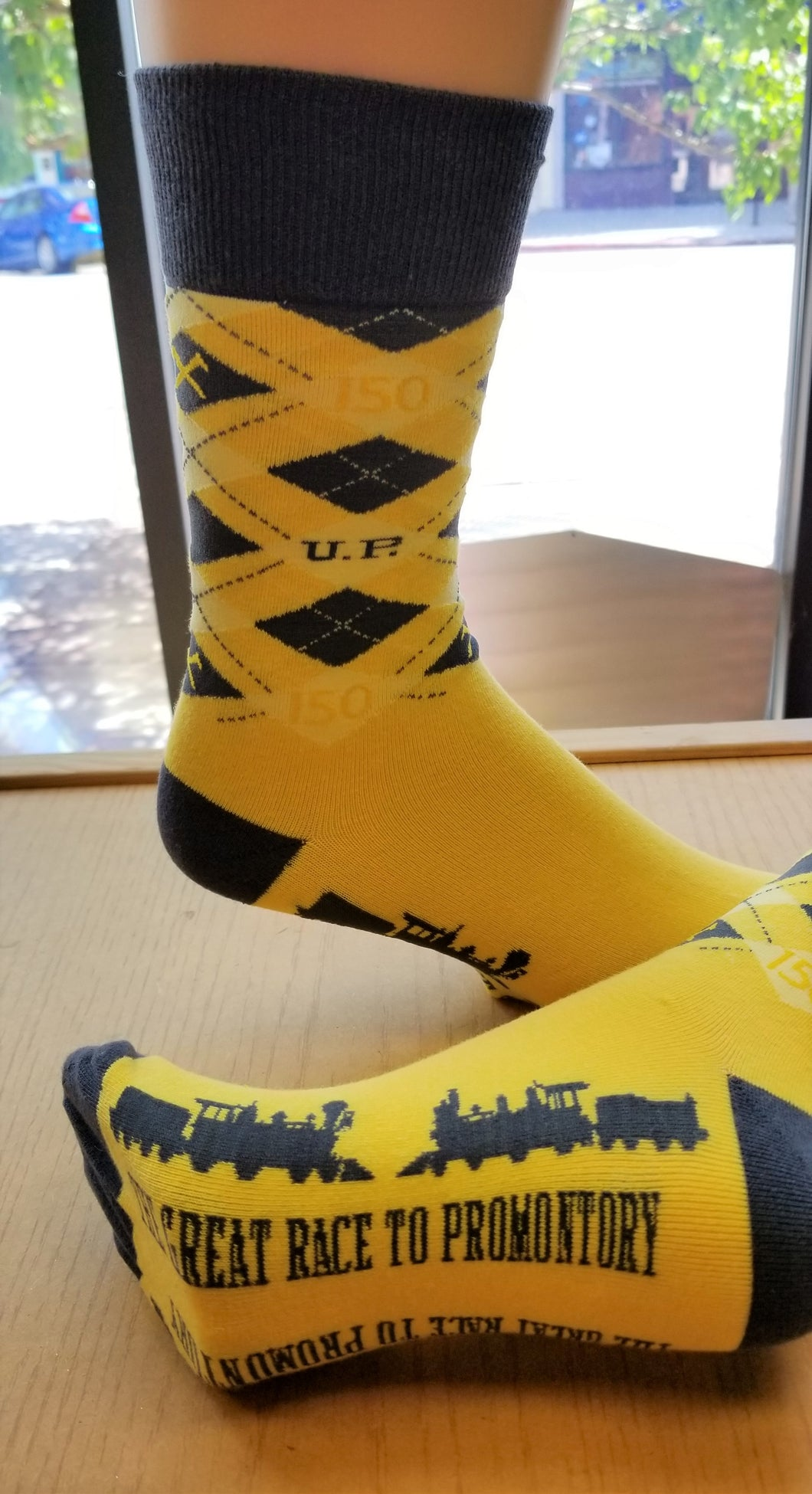150th Great Race to Promontory Anniversary Socks