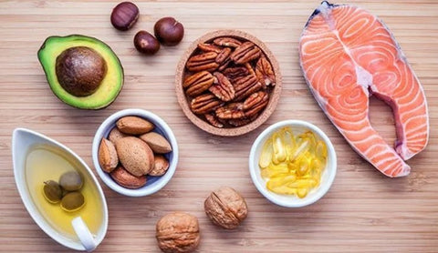 Here are the top 6 of 19 healthy foods you can eat to make sure you've got great skin and hair: