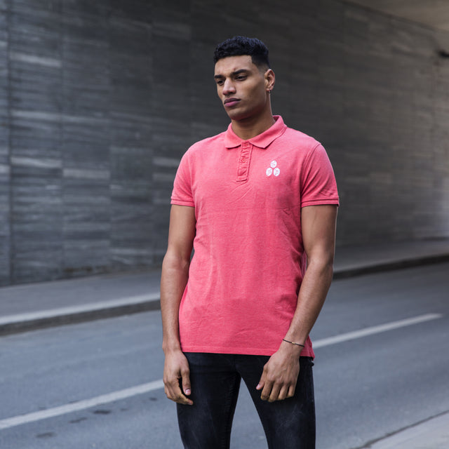 Organic Cotton Polo with embroidery logo