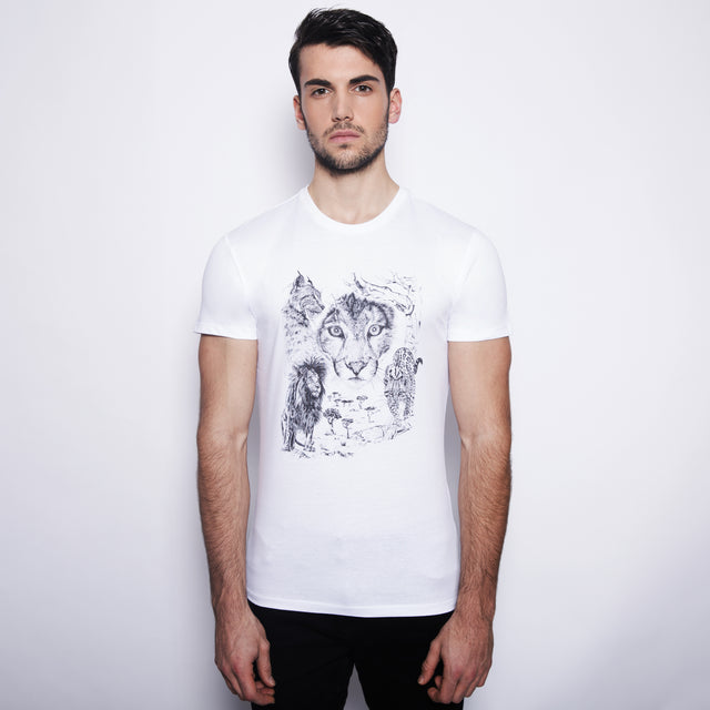 tshirt men felines