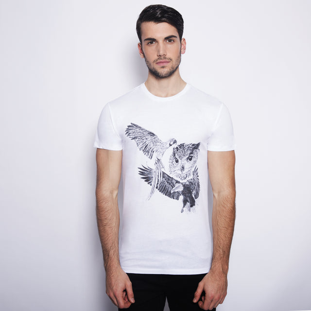 tshirt men birds