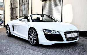 Audi R8 Car Hire Nottingham - Lux & Lav