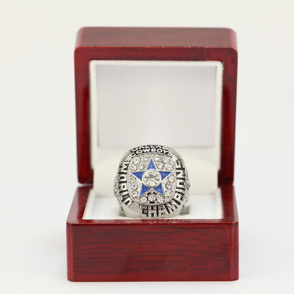 SLIVER DALLAS COWBOYS WORLD CHAMPIONSHIP RING