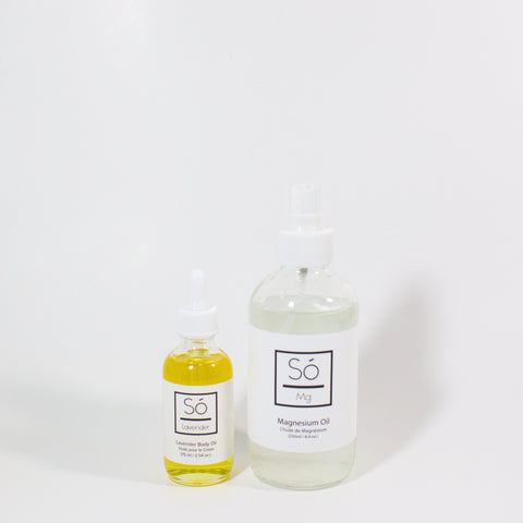 Mag Oil + Lavender Body Oil