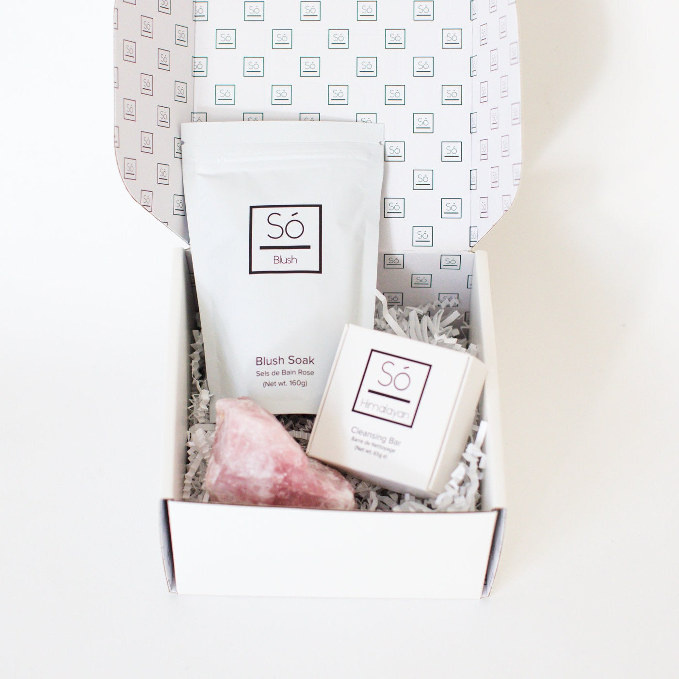 Rose Quartz Gift Box