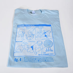 Watch Your Back Fig.4: The Leglock t-shirt