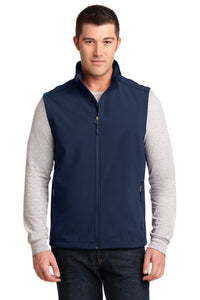 Port Authority Vest with Texakoma Logo - Dress Blue Navy