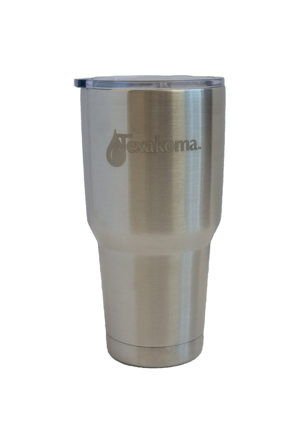 32oz Tumbler with Clear Slider Lid