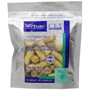 Virbac C.E.T. Enzymatic Oral Cleanliness Chews for Cats