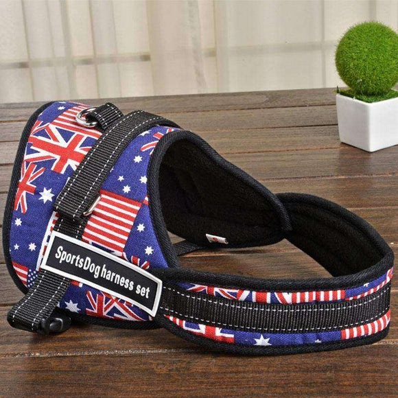 Adjustable Dog Harness for big Dog Pet Accessories Christma Pet Products for Dogs Vest Dogs harness Supplies Chihuahua